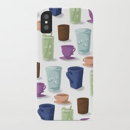 Drinks in Cups iPhone Case