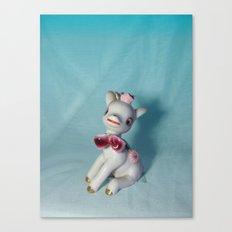 Bloodlust Bambi Canvas Print