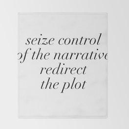 redirect the plot Throw Blanket
