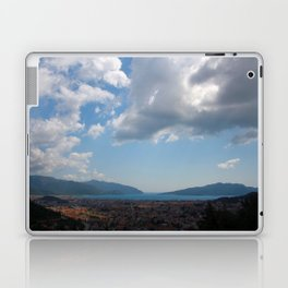Sunshine, Clouds and Shadows Over The Bay Of Marmaris Laptop & iPad Skin