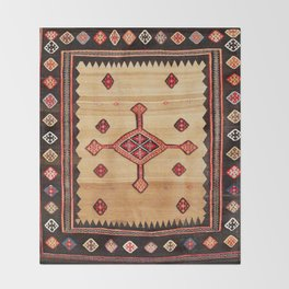 Varamin Ru Khorsi North Persian Table Cover Print Throw Blanket