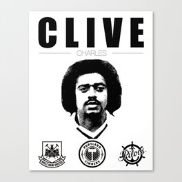 Clive Charles Canvas Print