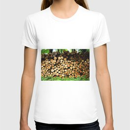 The Great Wall Of Wood T-shirt