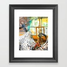 Flowing Garb Framed Art Print