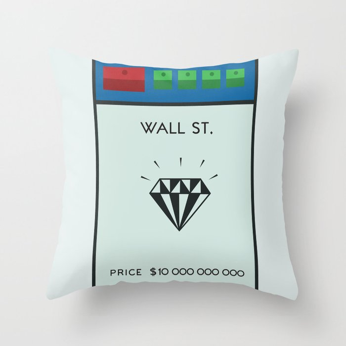 Occupy Wall Street? Throw Pillow