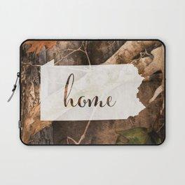 Pennsylvania is Home - Camo Laptop Sleeve