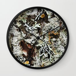 Bark full of life Wall Clock