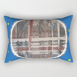 Waterlogged - star Rectangular Pillow