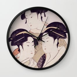 Three Beauties of the Present Day Wall Clock