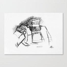 Warbot Sketch #009 Canvas Print