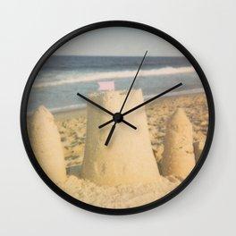 Sand Castle Summer Wall Clock