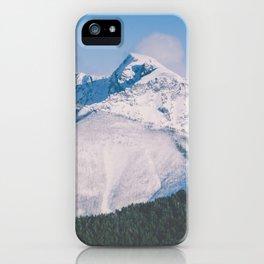 Snow Capped Peaks iPhone Case