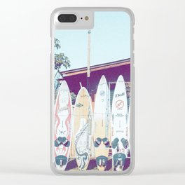 Surf Time III Clear iPhone Case