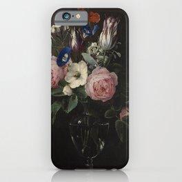 Flower Vase, Jan Brueghel the Elder iPhone Case