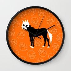 Skullhead Unicorn Wall Clock