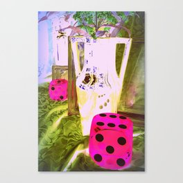 Just My Luck - Pottery Heaven Canvas Print