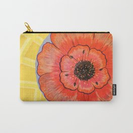Hanging Flower Tops Carry-All Pouch