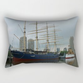 Moshulu And USS Olympia Rectangular Pillow