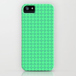 Mint Green Abstract I iPhone Case
