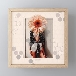 Flower Incognito III Framed Mini Art Print
