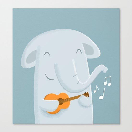 Nice song, E! Canvas Print