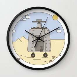 Pepelats. Russian science fiction. Wall Clock