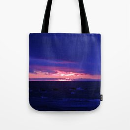 Purple Twilight Tote Bag