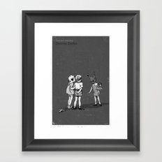 Janet And John Play Donnie Darko Framed Art Print