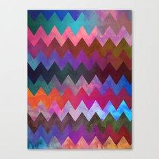 Gilgo Chevron Canvas Print