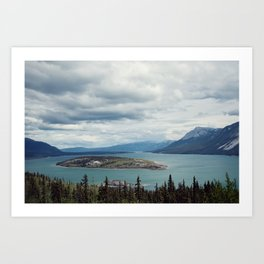 Bove Island Tagish Lake Art Print