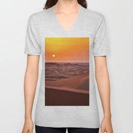Sun desert 4 Unisex V-Neck