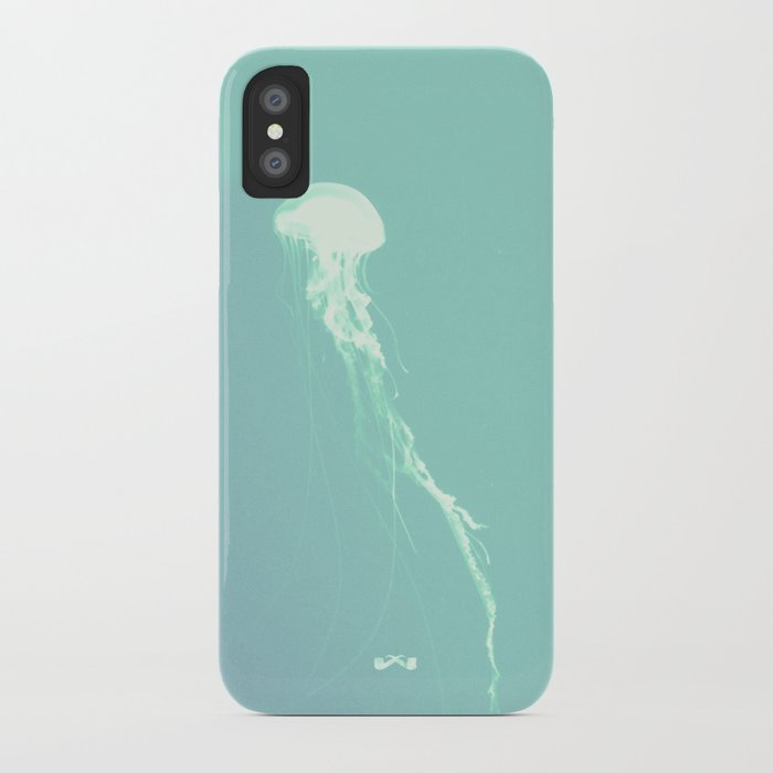Pulsating Cnidaria. iPhone Case