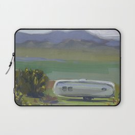 AIRSTREAM, Montana Travel Sketch by Frank-Joseph Laptop Sleeve