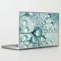 sparkles Laptop & iPad Skins featuring Droplets & Sparkles by Sharon Johnstone