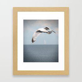 Being Jonathan Livingston Seagull Framed Art Print