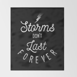 STORMS Throw Blanket