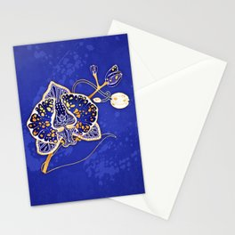 Egyptian Blue :: Orchid Stationery Cards
