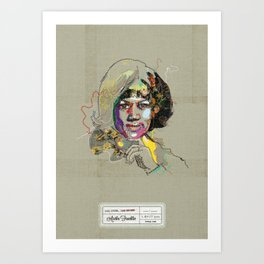 Aretha Franklin - Soul Sister | Soul Brother Art Print