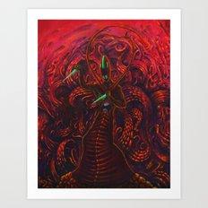 Malebolge Art Print