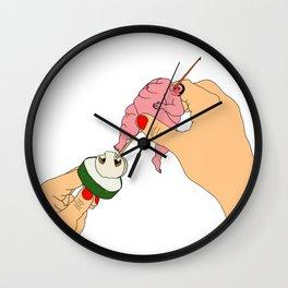 Skewer Wall Clock