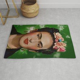 Frida Kahlo Print Rug