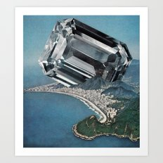 Costa Del Diamante Art Print