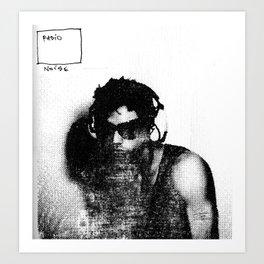 Radio Noise 01 Art Print