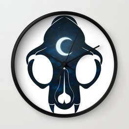 Night Skull Wall Clock