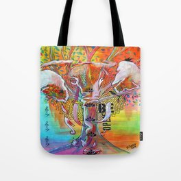 Elephant Song Tote Bag