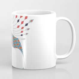 Vintage ethnic tribal aztec bird Coffee Mug