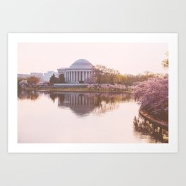 a softer side of washington, iii Art Print