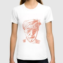 Andy portrait (Red) T-shirt