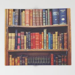 Novel Novels Throw Blanket