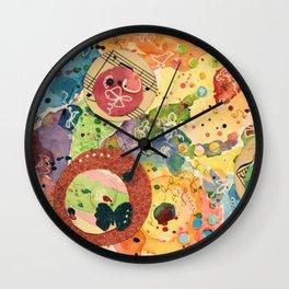 Color Play Wall Clock